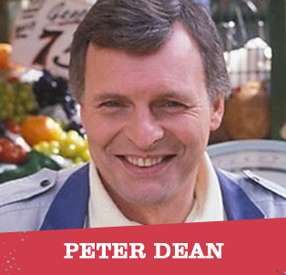 Pete Beale (EastEnders), Coronation Street, Hammer House of Horror, The Chinese Detective, Law & Order, Minder, Doctor Who, Up Pompeii
