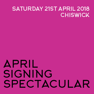 April Signing Spectacular