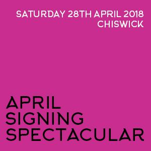 April Signing Spectacular