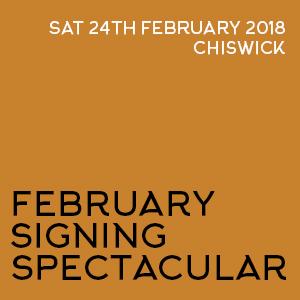 February Signing Spectacular