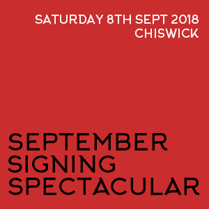 September Signing Spectacular