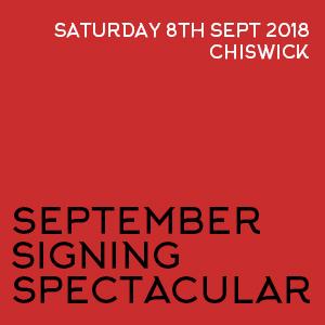 September Signing Spectacular